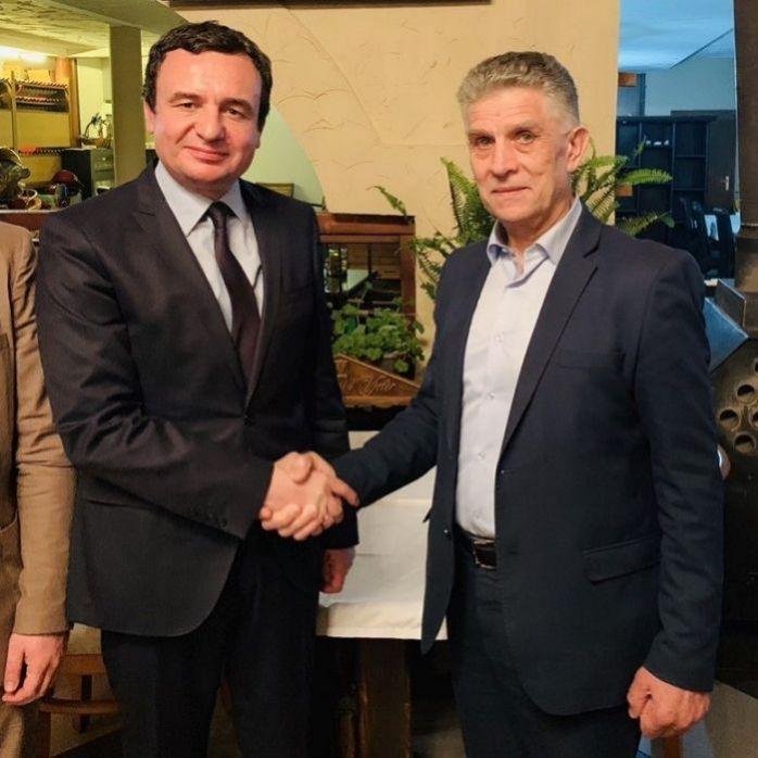 Mediji o nama: Dr. Sulejman Ugljanin se sastao sa Albinom Kurtijem