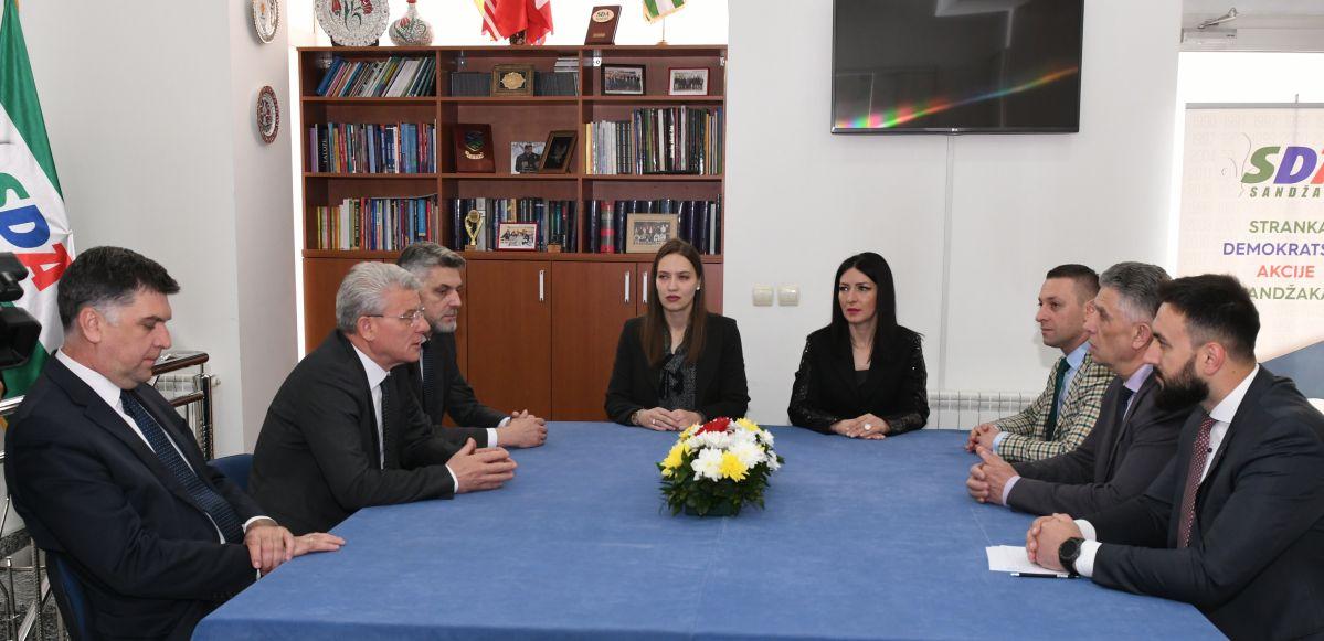 Džaferović posjetio SDA Sandžaka