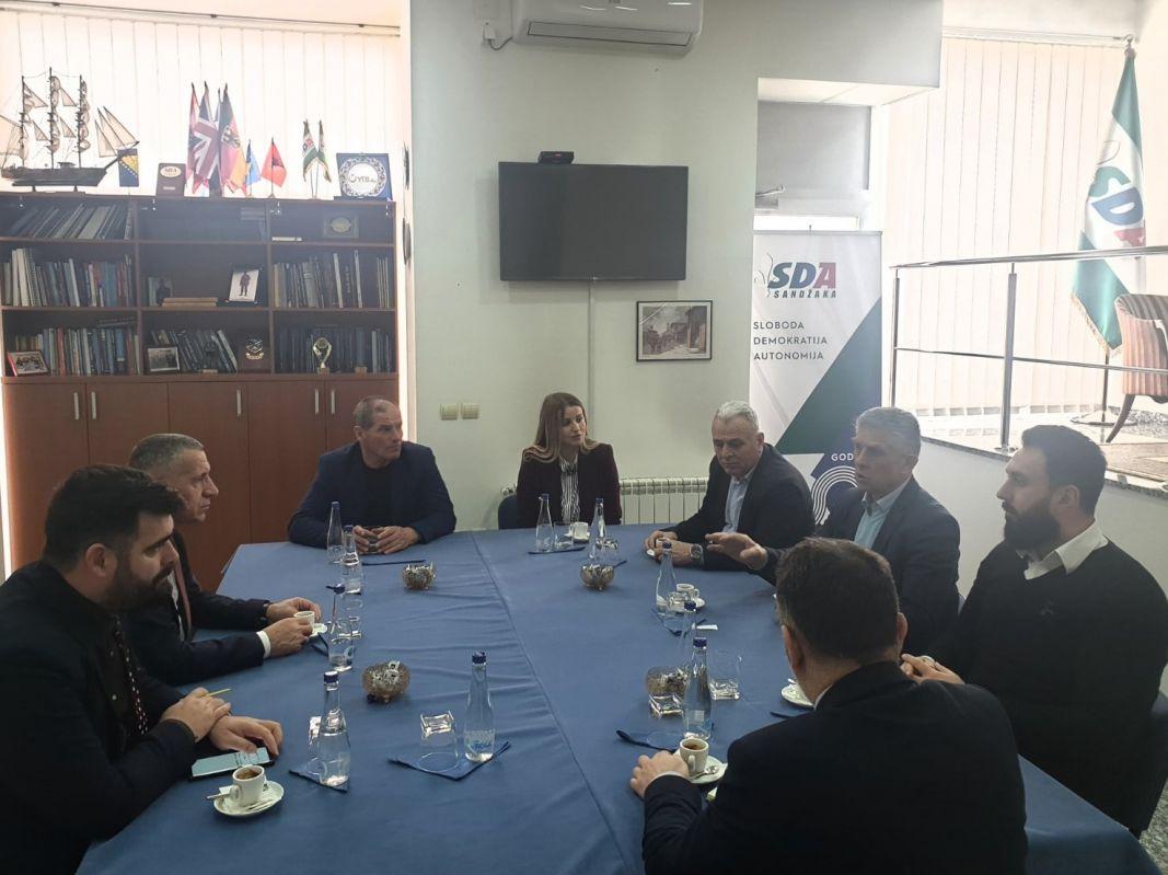 """""""Ujedinjena dolina – SDA Sandžaka"""" nezaobilazan faktor u budućim razgovorima"""