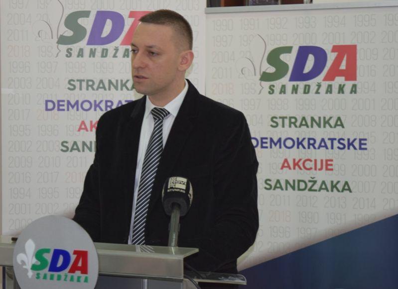 Poruka protesta u Sandžaku