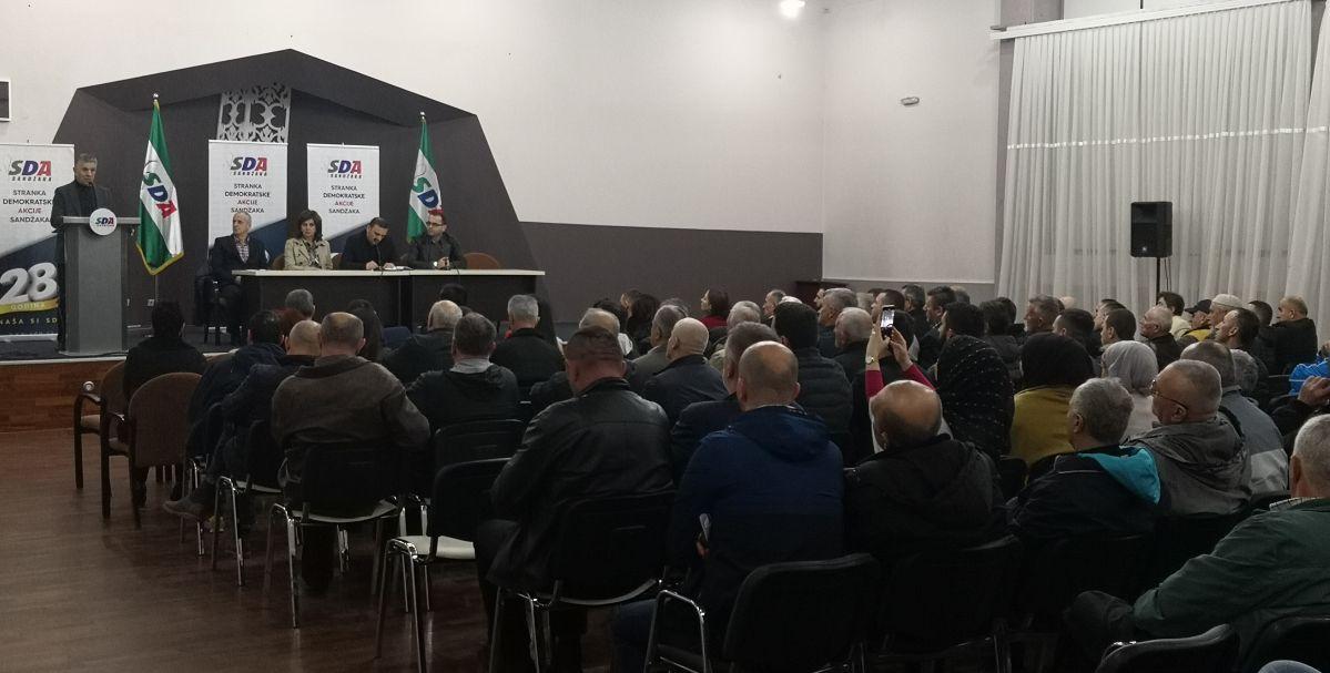 Promovisani značajni projekti SDA Sandžaka