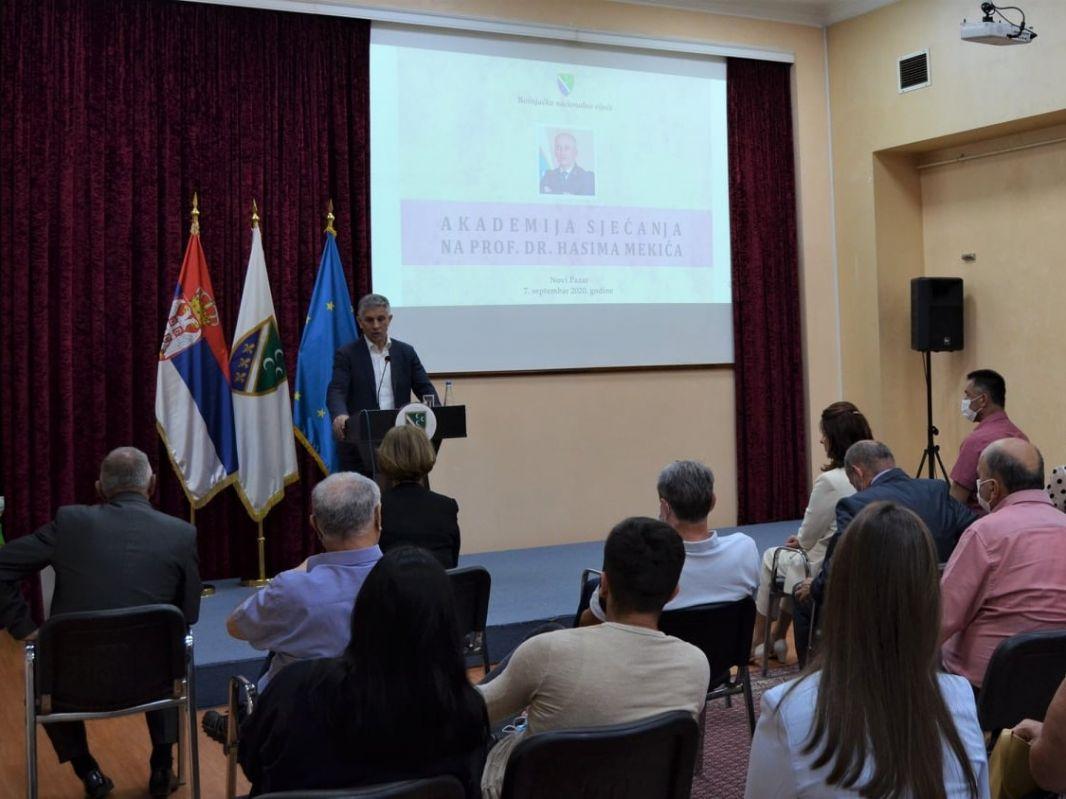 Akademija sjećanja na prof. dr. Hasima Mekića