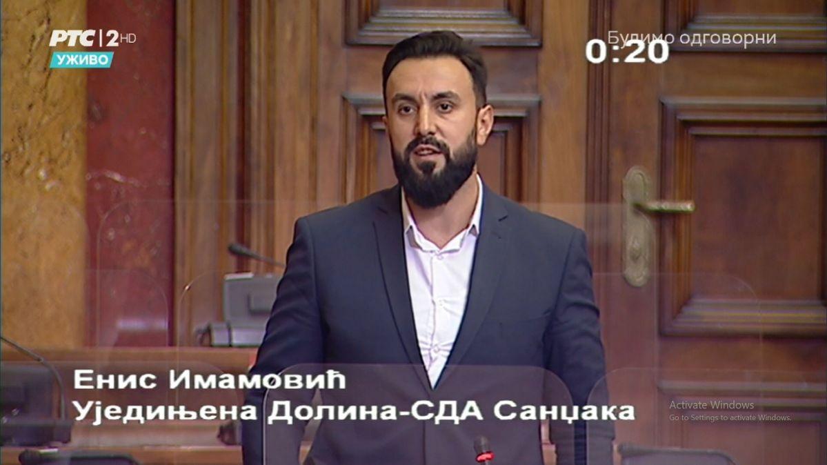 SDA Sandžaka neće glasati za izbor Vlade Srbije