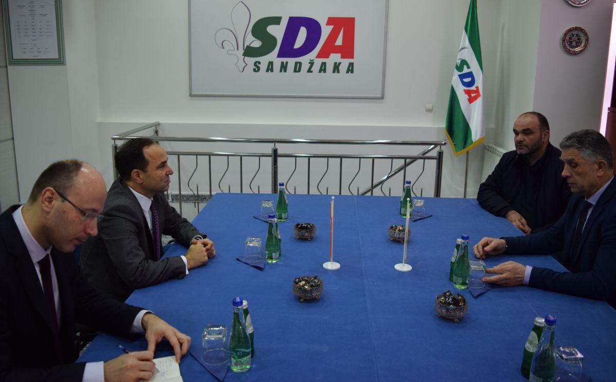 Ambasador Republike Turske posjetio SDA Sandžaka