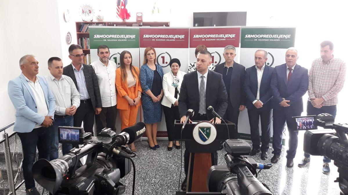 Vijećnici liste Samoopredjeljenje jedinstveni u zaštiti bošnjačkih interesa