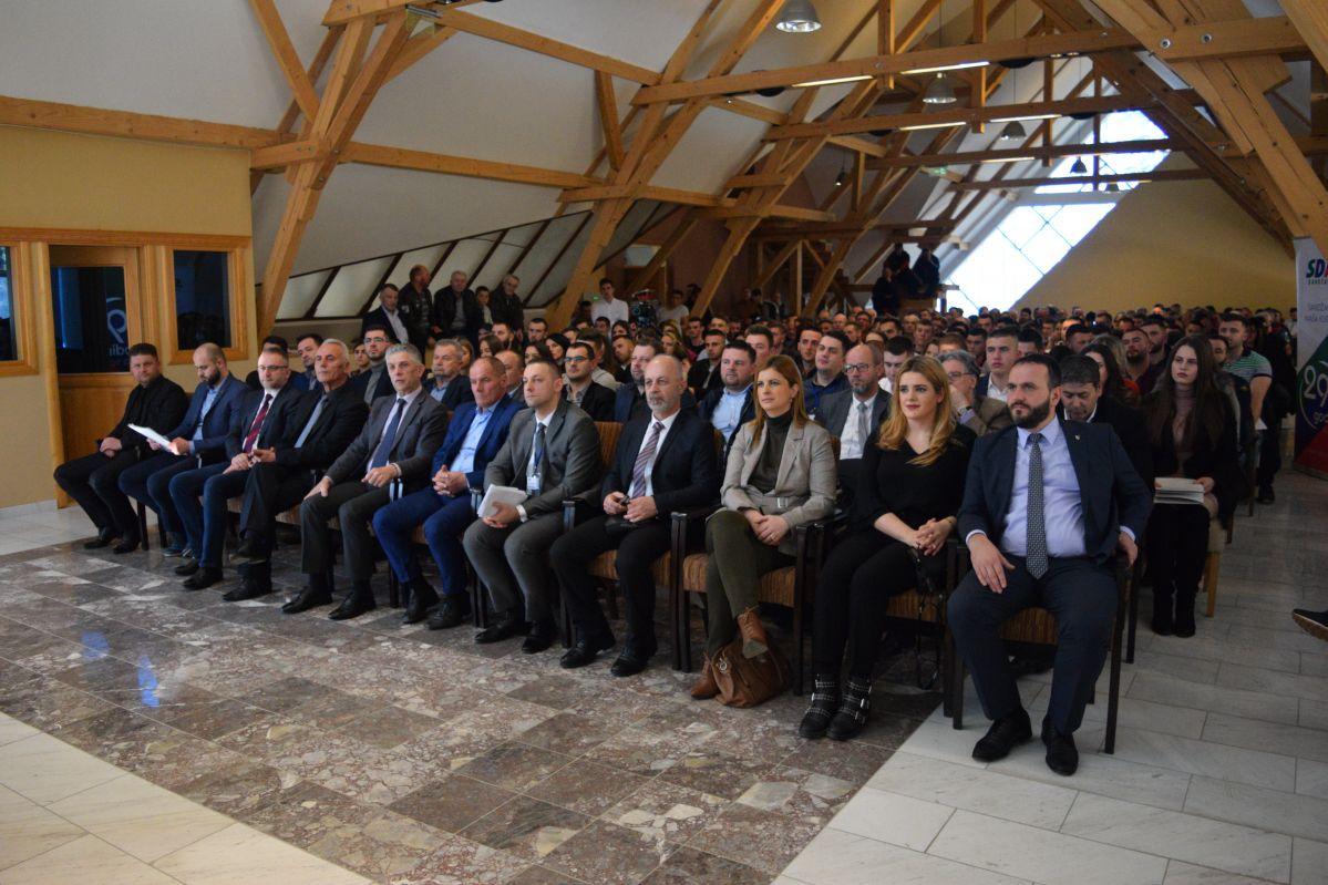 Asocijacija mladih SDA Sandžaka u Sjenici izabrala novo rukovodstvo