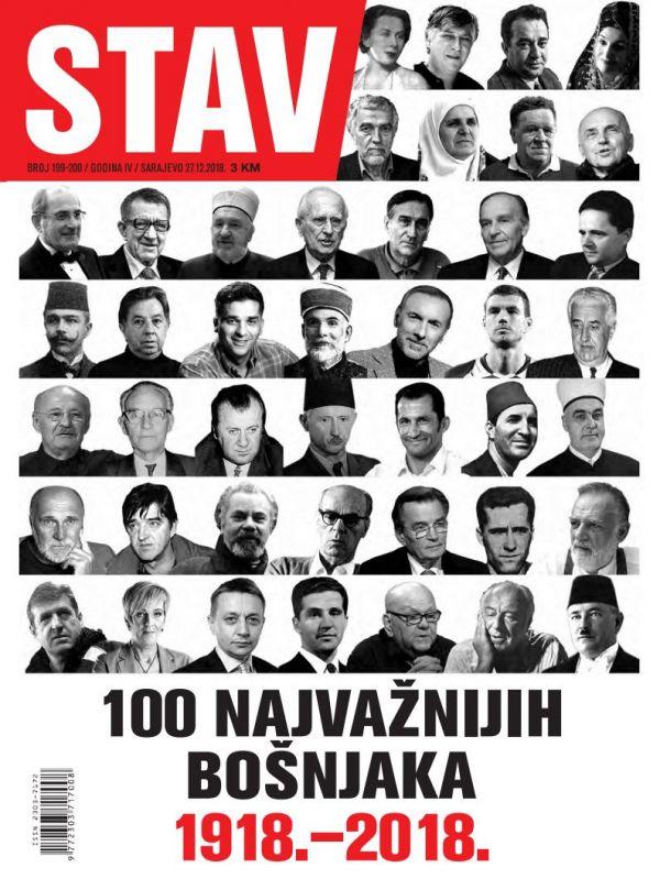 PREDSJEDNIK UGLJANIN U 100 NAJVAŽNIJIH BOŠNJAKA 1918. – 2018.