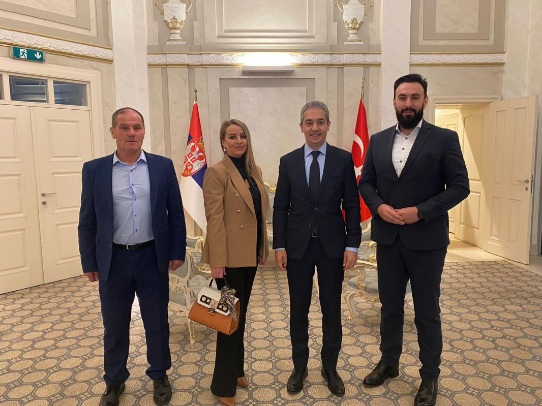 Poslanici SDA Sandžaka u posjeti novom ambasadoru Republike Turske