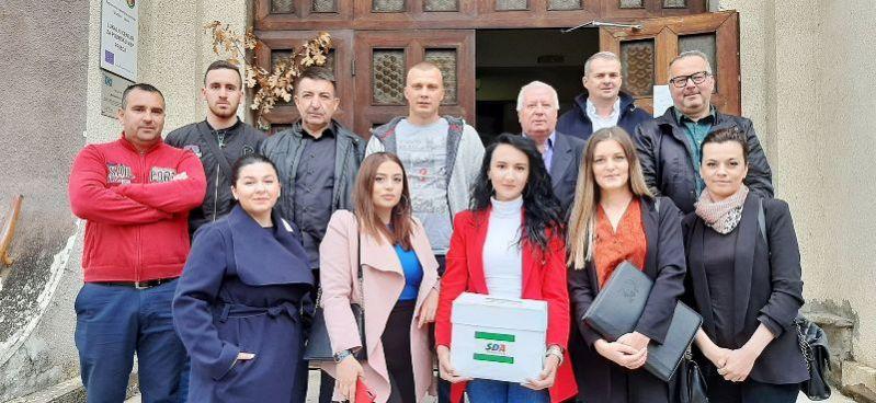 Predata odbornička lista SDA Sandžaka u Priboju