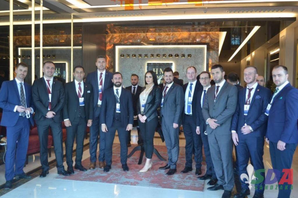 Delegacija AM SDA Sandžaka prisustvovala Kongresu mladih AK Partije